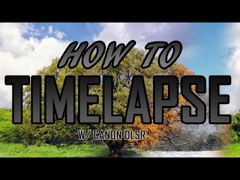 How to do a timelapse without a Intervalometer (Under 3 minutes)