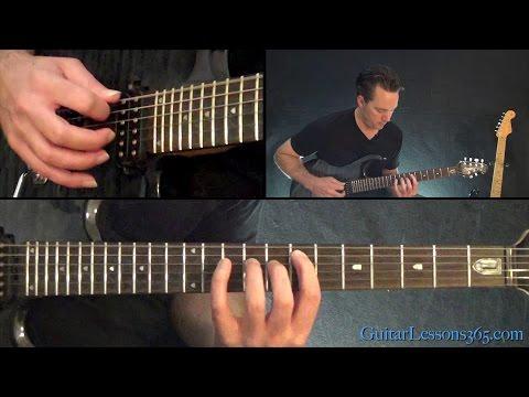 Metallica - Halo On Fire Guitar Lesson (Chords/Rhythms)