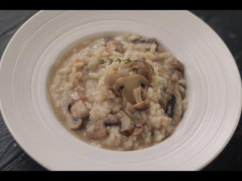 Creamy Mushroom Risotto | Sanjeev Kapoor Khazana