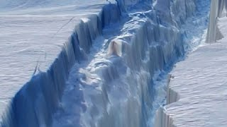 Antarctic Continent is Splitting in Half- Strange Events Detected Worldwide