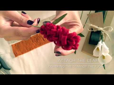 How to Make a Wool Felt Lavender