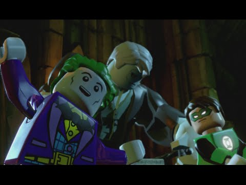 LEGO Batman 3 - 100% Guide #10 - Need For Greed (All Collectibles - Minikits, Red Brick etc)