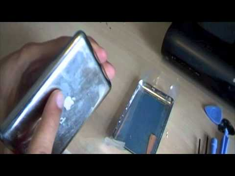replacing ipod classic casing