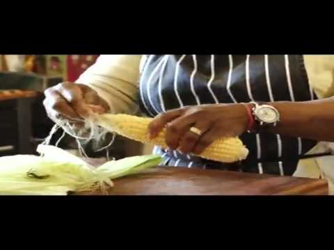 How to cook sweetcorn fritters