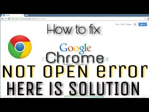 Chrome not open error fix,Download error fix,Install error fix|How to fix Google chrome error