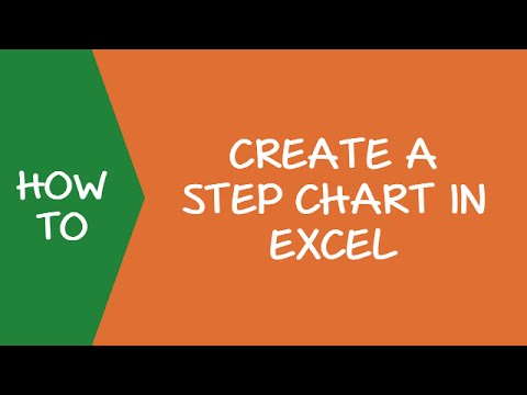 How to Create a Step Chart in Excel