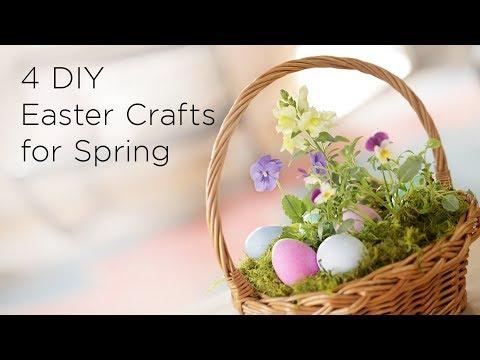 4 DIY Easter Crafts for Spring