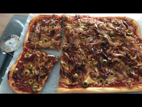 Honey Caramelised Onion Pizza - Episode 348 - Baking with Eda