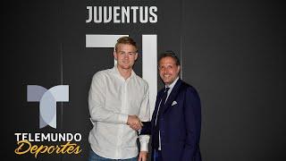 La razón que ha impedido al Barcelona competir con la Juventus por De Ligt | Telemundo Deportes