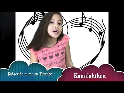 Kamilahthon - How to sing with cups.