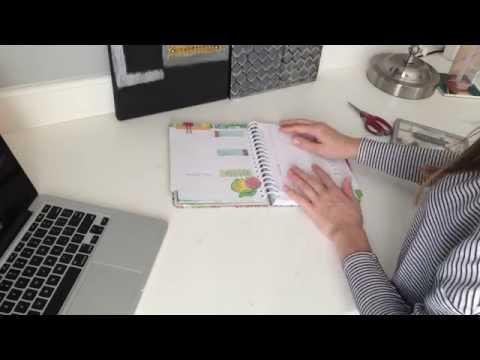 Planner/Agenda Bookmark | D.I.Y