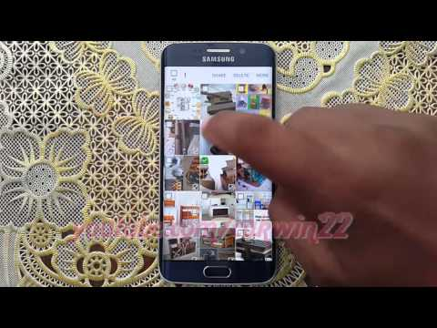 How to send Pictures file via bluetooth on Samsung Galaxy S6 or S6 Edge