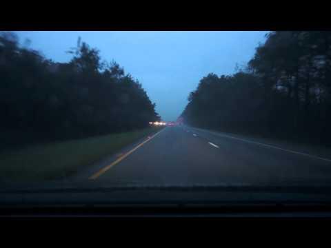 Rain On A Car Roof - 1 Hour - ASMR