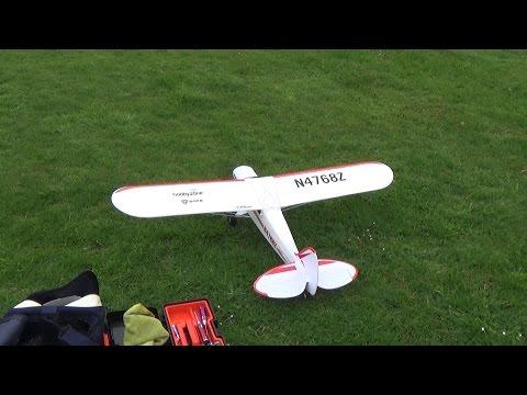 Hobbyzone Super Cub S Maiden Flight.