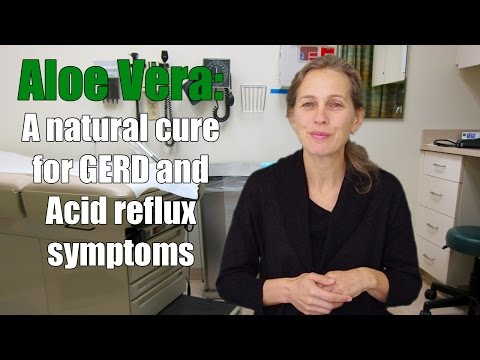 Aloe Vera: A natural cure for GERD and Acid reflux symptoms