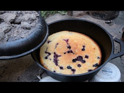Cake Recipe For Cooking Outdoors in a Dutch Oven - GardenFork