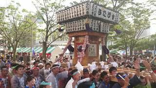 8月18日(日) 市原うたげ會@千葉の親子三代夏祭り 神輿渡御 2019