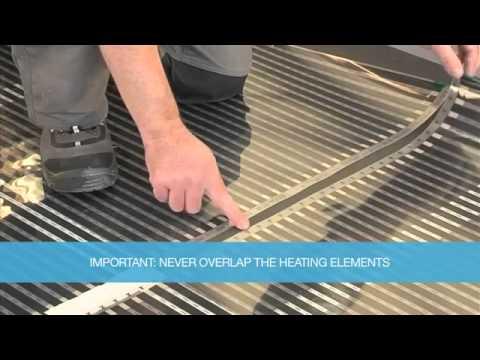 Underfloor Heating Kit Laminate Floor Installation