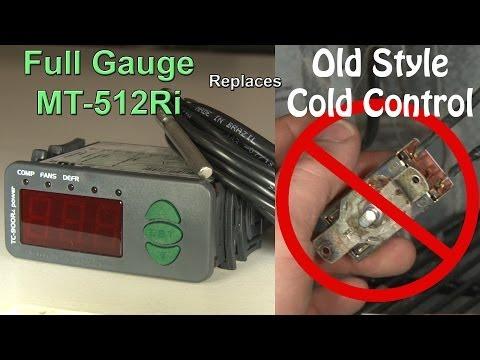 Full Gauge MT 512 Ri Installation Retrofit - Cold Control Retrofit - Hook It Up PS1 E2