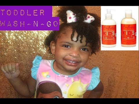 TODDLER WASH AND GO/ SHEA MOISTURE PRODUCTS