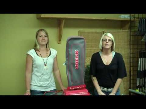 Oreck XL2000: How To Assemble Your Oreck Vacuum
