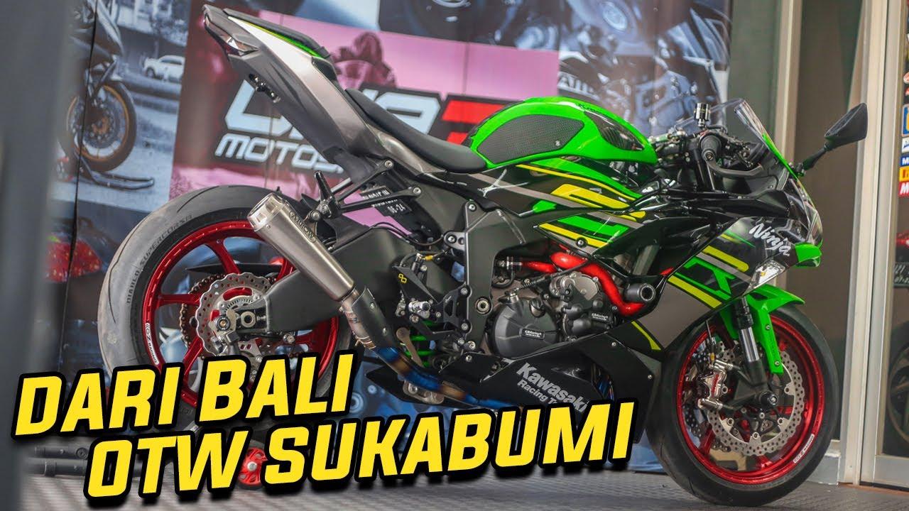 Angkut di Bali - Upgrade di #One3 - Dikirim ke Sukabumi: New Kawasaki ZX636 2019