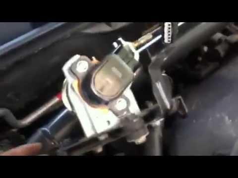 Accelerator pedal position sensor APPS  replace P2138 2005 Acura TL