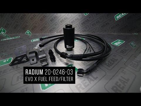 Unboxing Radium Evo X Fuel Feed & Filter 20-0246-03 - Real Street Performance