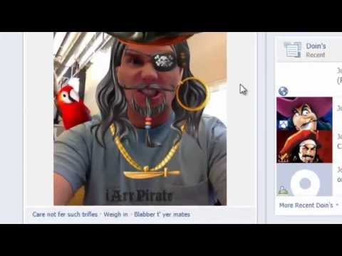 Talk Like a Pirate on Facebook