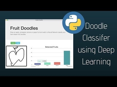 Deep Learning with Python - Make a Doodle Classifier!
