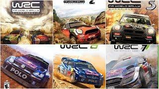 [HD] WRC Evolution (2010-2017)