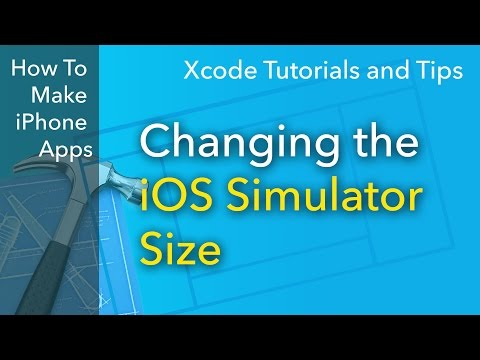 Xcode Tips - Changing the iOS Simulator Scale
