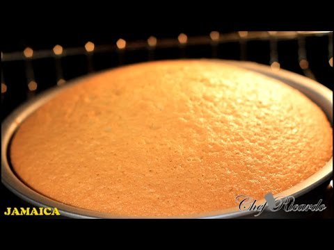 Vanilla Sponge Cake Best Recipe Ever | Recipes By Chef Ricardo
