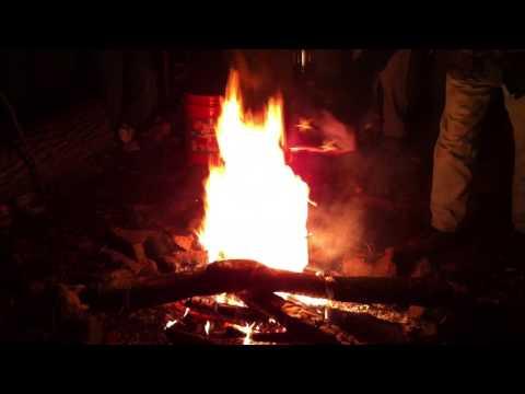 Troop 9 Ceremonial Flag Burning