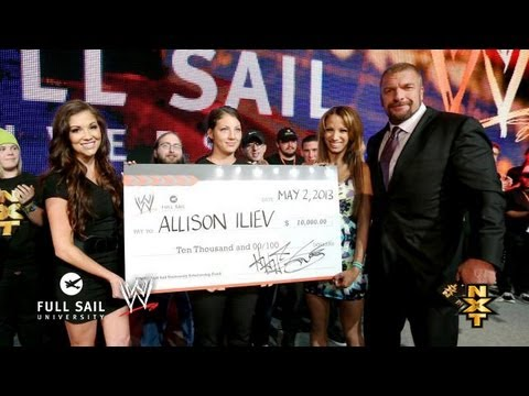 WWE awards another $10,000 scholarship to Full Sail University student