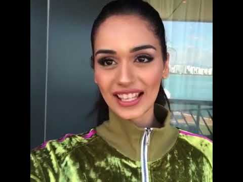 Manushi chhillar Miss world 2017 at  Charity Fashion show at china