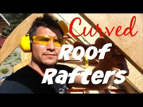 Curved Roof Rafters - Video 11 - Esket Tiny House
