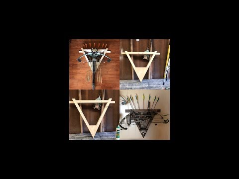How to Build a Crossbow Rack and a Bow Rack