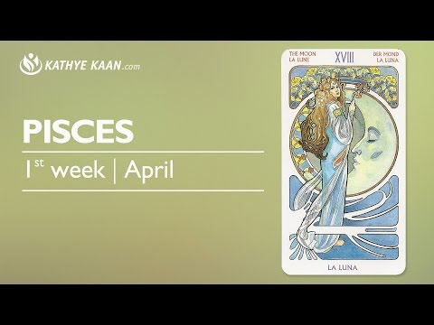 Pisces Weekly Psychic Tarot Horoscope Reading   Week 14   April 3 - 9