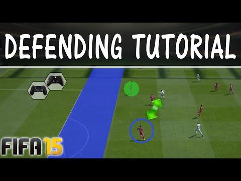 FIFA 15 DEFENDING TUTORIAL  / 2nd Man Press Technique / BEST WAY to DEFEND / FUT & H2H