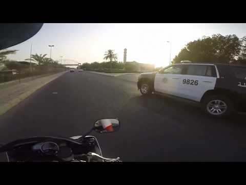 Yamaha R6 in Kuwait streets by gopro hero 4