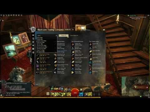 Guild Wars 2: Gold Making Tutorial(Dyes)