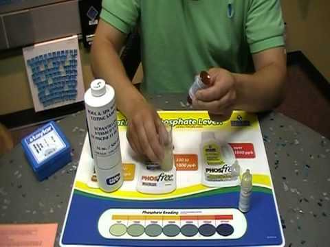Salt Level Test With Taylor Test Kit