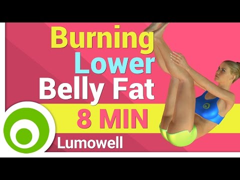 Lower Belly Fat Burning Exercise for Women