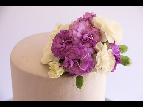 How To Make Floral Bouquet In A Food Safe Way- Rosie's Dessert Spot