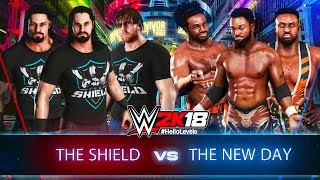 WWE 2K18 The Shield vs The New Day Survivor Series 2017 Full Match