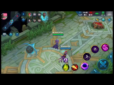 Heroes arena game play