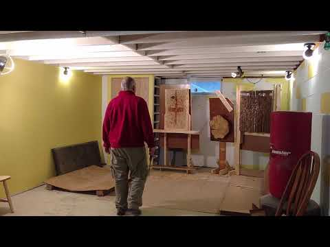 Drywall hole saw target throwing demo