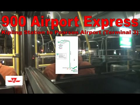 192 Airport Rocket - TTC 2007 Orion VII 8010 (Kipling Station to Pearson Airport [Terminal 3])