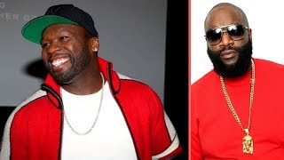 50 Cent Reacts To Rick Ross Getting Rushed To Hospital 50 Cent Beef With Rick Ross Continues